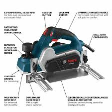 Bosch 3 25 In W 6 5 Amp Handheld Planer In The Planers Department At Lowes Com