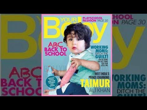 Image result for taimur on magazine cover""