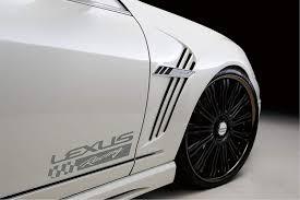 Amazon Com Decals Usa 2 Fits Lexus Racing Vinyl Decal Sticker Silver Automotive