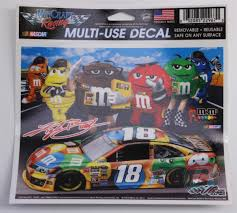 Kyle Busch M M S 5x6 Multi Use Decal