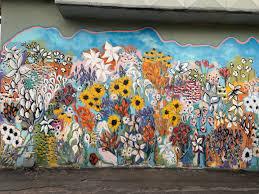 Flowers Mural Nashville Guru