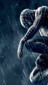 black spider man iphone wallpapers