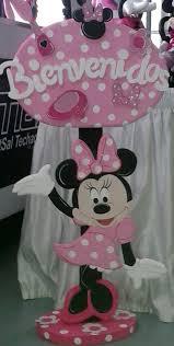 Bienvenidos De Minnie Decoracion Fiesta De Minnie Decoracion