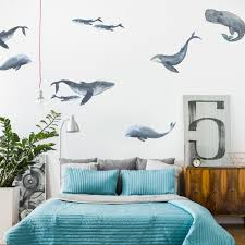 Whales In 2020 Whale Decal Whale Wall Decals Wall Decals