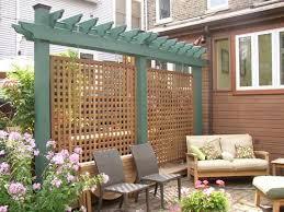 Lincoln Park Wall Trellis And Deck Bds Construction Backyard Privacy Backyard Patio Backyard