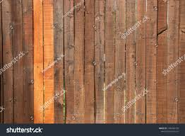 Wood Privacy Fence That Has Been Stock Photo Edit Now 1446784199