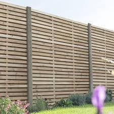 Pin By Clair Waite On Garden In 2020 Garden Fence Panels Fence Panels Slatted Fence Panels