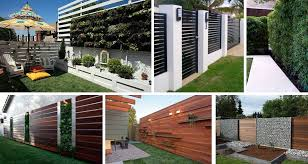 Modern Privacy Fence Panels For Your House Yard And Garden