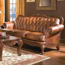 cigar brown distressed leather