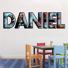 The Avengers Super Heroes Personalized Custom Name Wall Sticker Decal Decalz Co