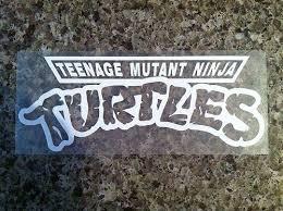 Purchase Teenage Mutant Ninja Turtles Tmnt Vinyl Decal Sticker Laptop Car Truck Motorcycle In Dothan Alabama Us For Us 2 25
