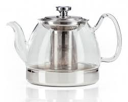 hob top glass teapot from judge of