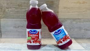 ocean spray cranberry original and no