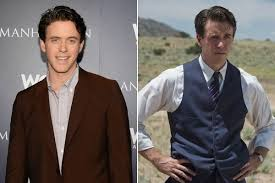 Ashley Zukerman vs. Charlie Isaacs ('Manhattan') - What Actors Look Like In  And Out Of Costume - Zimbio