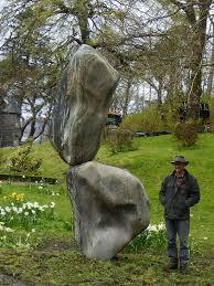 Craftspeople: Adrian Gray's Stonebalancing Sculptures - The English Garden