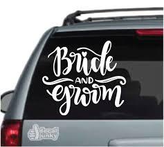 Bride Groom Car Decals Stickers Decal Junky