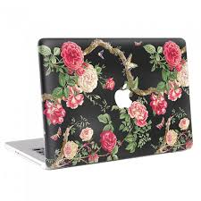 Rose And Butterfly Vintage Macbook Skin Decal
