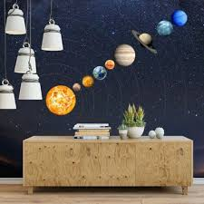 Glow In The Dark 9 Planets Solar System Wall Stickers Decal Kids Room Decor Us Home Garden Children S Bedroom Boy Decor Decals Stickers Vinyl Art