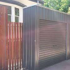 roller door storage shed steelchief