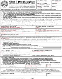 Download Va Termite Inspection Form Pics
