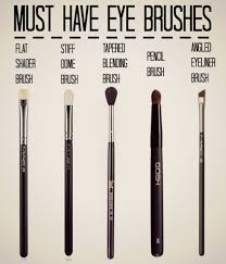 must have mac eye makeup brushes