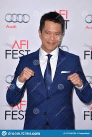 Byron Mann editorial stock image. Image of premiere - 173180724