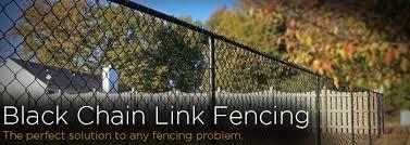 Black Chain Link Fence Workshop