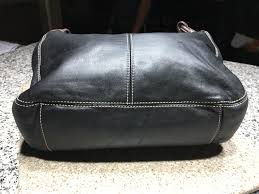 tignanello handbag black leather