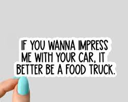 Food Truck Stickers Etsy