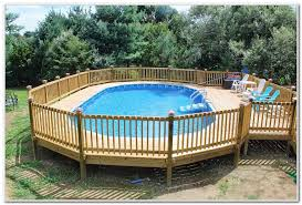 Pool Deck Fencing Ideas Swimming Railing Decks Home Decorating Above Ground Privacy Fence Elements And Style Gates Decking Materials Patio Best Wood For Discount With Privac Crismatec Com