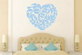 Amazon Com Susie85electra Heart Shape Abstract Quotes Wall Decals Vinyl Wall Art For Kids Rooms Bedrooms Nursery Wall Stickers Home Kitchen