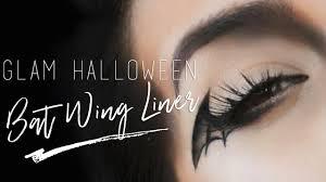 bat wing eyeliner tutorial easy