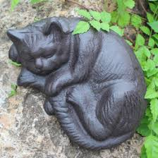 garden ornament cat canada best