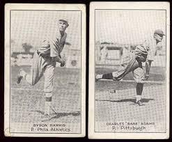 1921-23 E220 National Caramel Charles Adams and Byron Harris ...