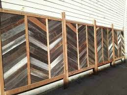 Alternative Way To Reuse Old Fence Boards To Make A New Fence Wish I Would Have Seen This Before We Made Our Reused F Old Fences Old Fence Boards Fence Boards