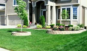 Corner Lot Landscaping Ideas Fence House Plans 165009