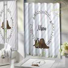Forest Animals Woodland Curtain Kids Room Decor Window Curtains 432 Eloquent Innovations