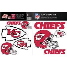 Skinit Kansas City Chiefs Car Decal Kit Walmart Com Walmart Com