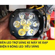 Đèn led trợ sáng siêu rẻ cho xe máy và xe điện