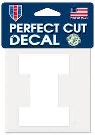 Shop University Of Illinois Car Decals Illini Window Stickers Illini Clings Decals