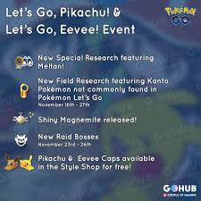 Let's Go event in Pokemon GO: everything you need to know ...