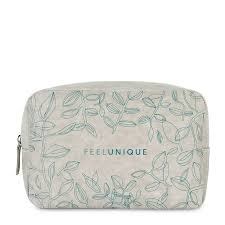 feelunique sustainable makeup bag