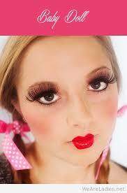 baby doll makeup women