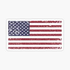 American Flag Stickers Redbubble