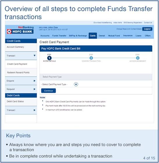 Image result for hdfc bank net banking""