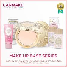 qoo10 canmake face powder makeup base
