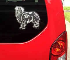 Sugar Skull Australian Shepherd Decal Australian Shepherd Australian Shepherd Training Dog Tattoos