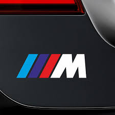 Sticker Bmw M Series White Muraldecal Com