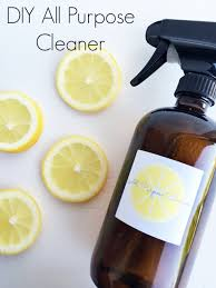 diy all purpose cleaner lemons