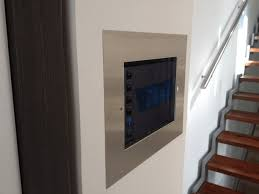ipad flush wall mount